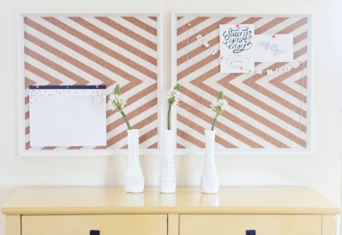 DIY Projects To Make Your Rental Home Look More Expensive-corkboard
