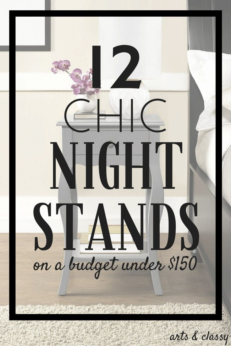 12 chic nightstands on a budget under $150
