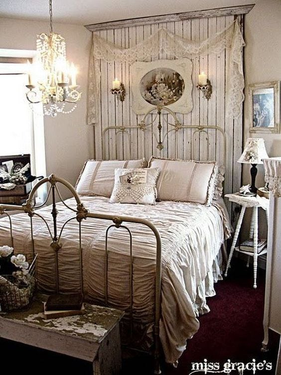 How To Decorate Your Bedroom & Theme it Around Your Fun Personality - diy decor shabby chic