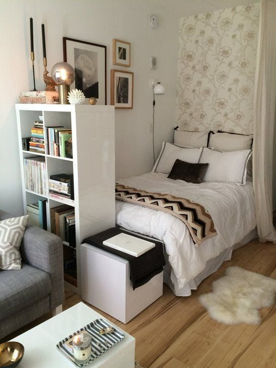 How To Decorate Your Bedroom & Theme it Around Your Fun Personality - small bedroom design