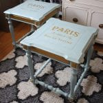 DIY Projects - End Tables Makeover Tutorial