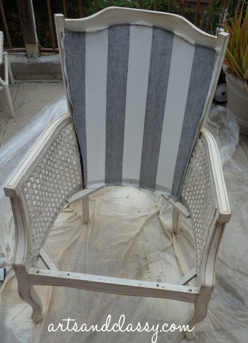 DIY Tutorial Cane Back Chair in 10 Steps