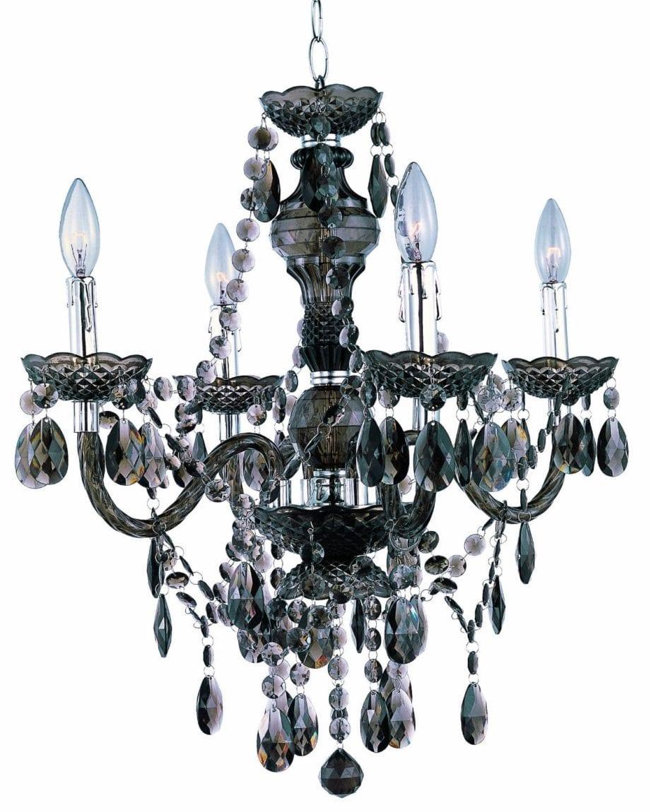 Chandelier and pendant lamps for under 100 arts and classy parkmadison4 light smokedacrylicchandelierceilingfixturewithacrylicprismschromeaccentslightingartsandclassyblog arubaitofo Image collections