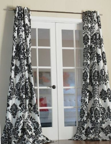 geo blackout curtain panels lush decor trend home design and