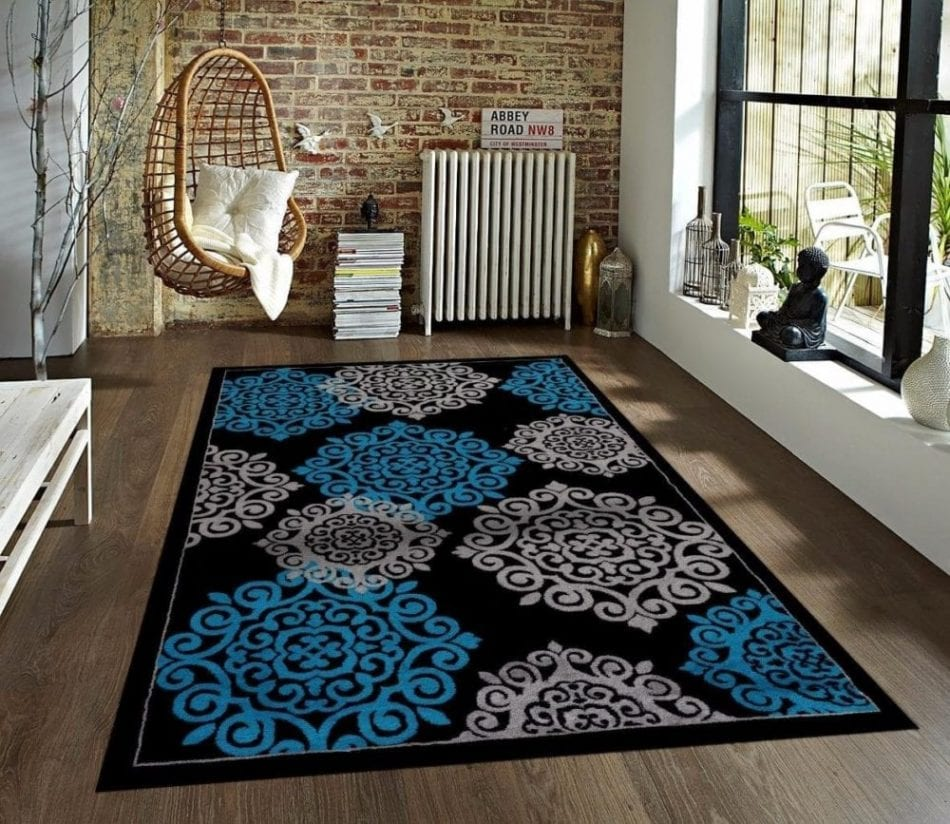 Large Beautiful Area Rugs on a Budget