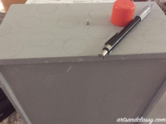 Polka dots for DIY Furniture projects