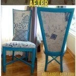 Curb Side High Back Chair Dreamy Makeover