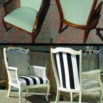Yard Sale Find Cane Arm Chair