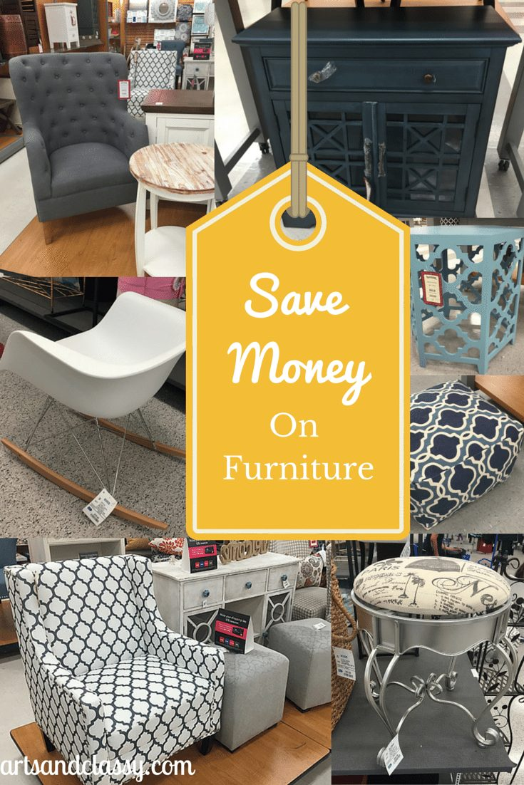 Save Money on Furniture when shopping at TJ Maxx and Ross via www.artsandclassy.com