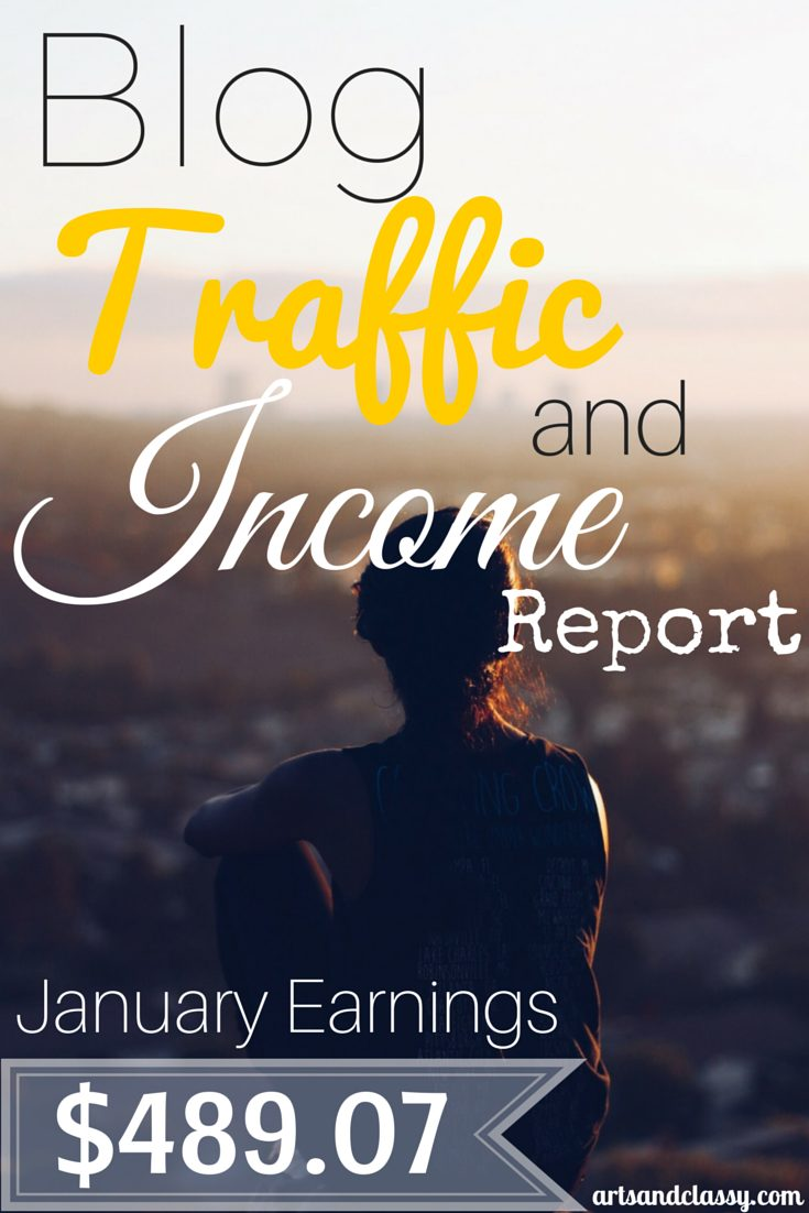 Blog Traffic and Income Report for Arts & Classy. I finally began tracking my income and stats in my 3rd year of blogging. I am finally getting serious about blogging and it I want to hold myself accountable