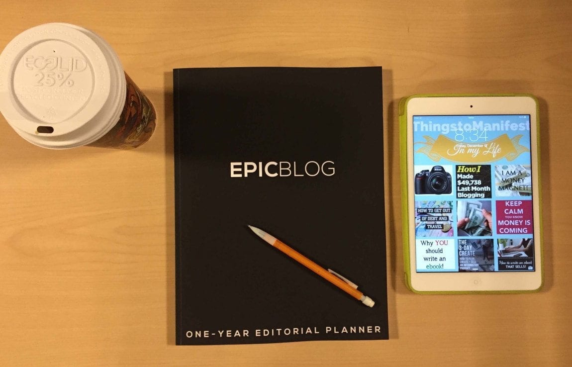 How I am making money with this awesome editorial planner