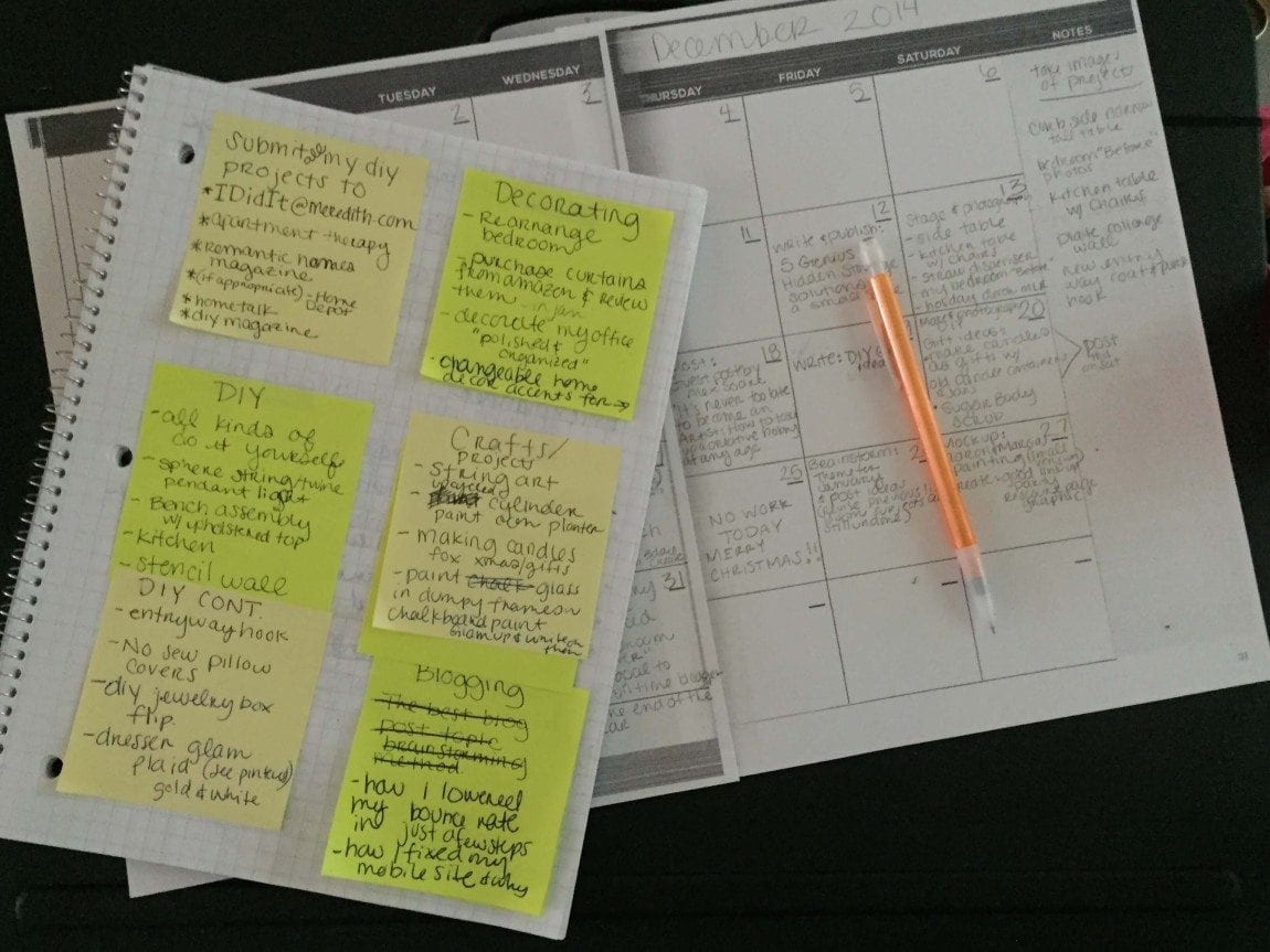 How I am making money with this awesome editorial planner. Planning ahead is so essential