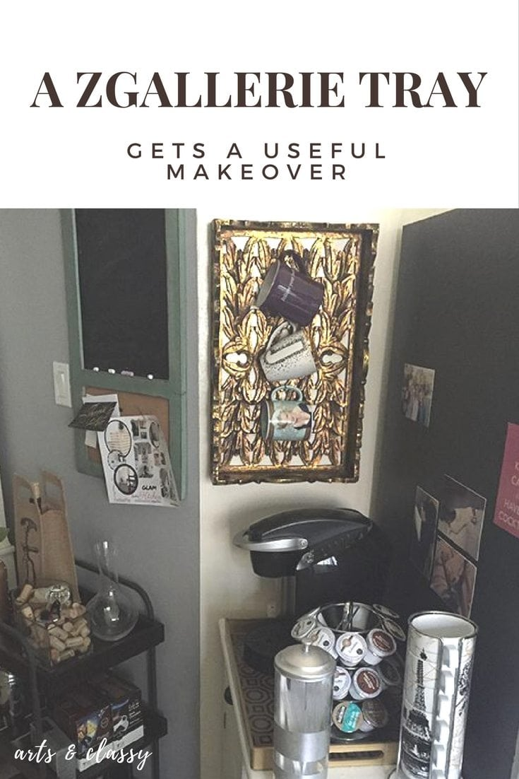 A ZGallerie Tray Gets a Useful Repurposing #30dayflip
