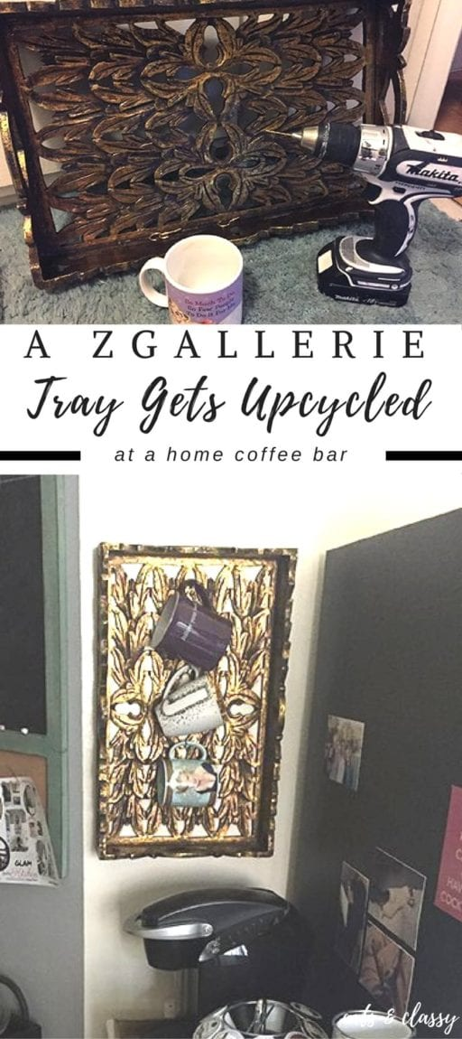 A Zgallerie Tray Gets A Useful Repurposing 30dayflip