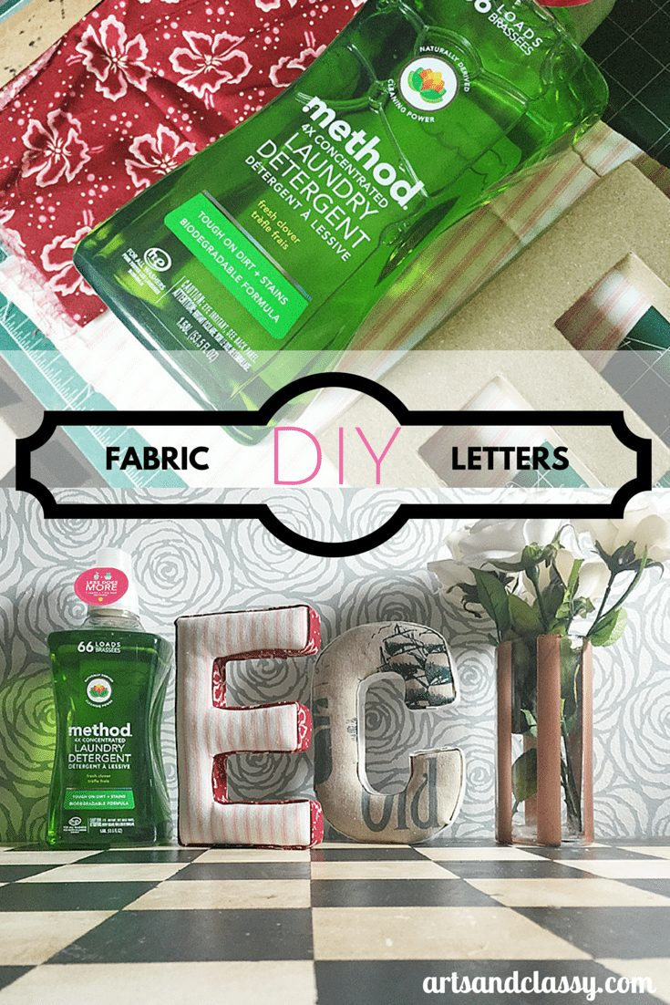 Check out my fab fabric letter DIY craft project using @method @methodtweet --->> http___wp.me_p4a2of-1oO #stylebymethod #clevermethod