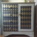 My Baby Dresser Gets a Harlequin Makeover