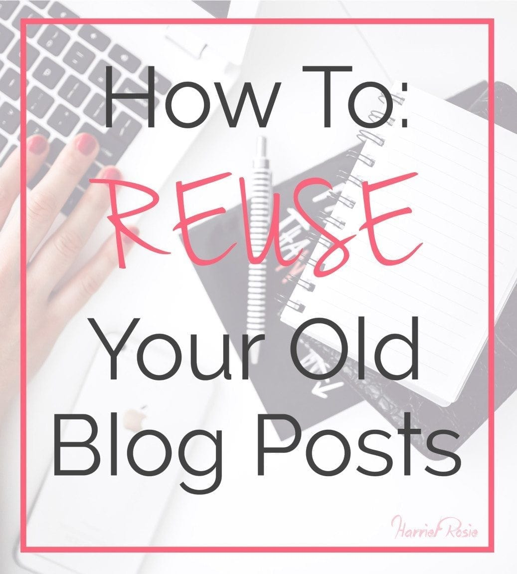How to reuse old blog posts main image