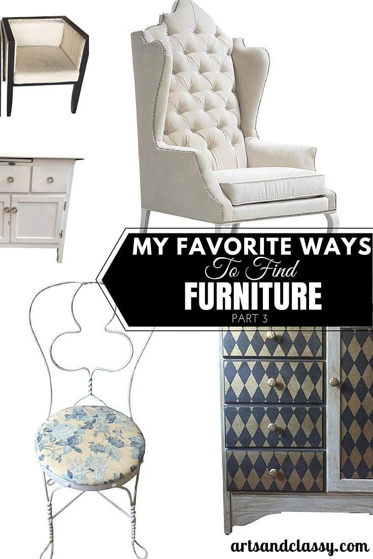 My Favorite Ways To Find Furniture Part 3 - with Chairish