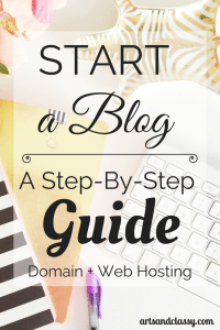 Start a Blog - A Step by step guide