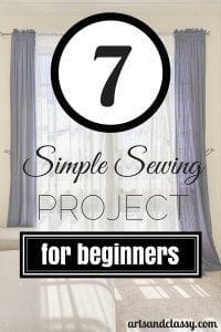 Easy Sewing projects that Beginners Should Try!