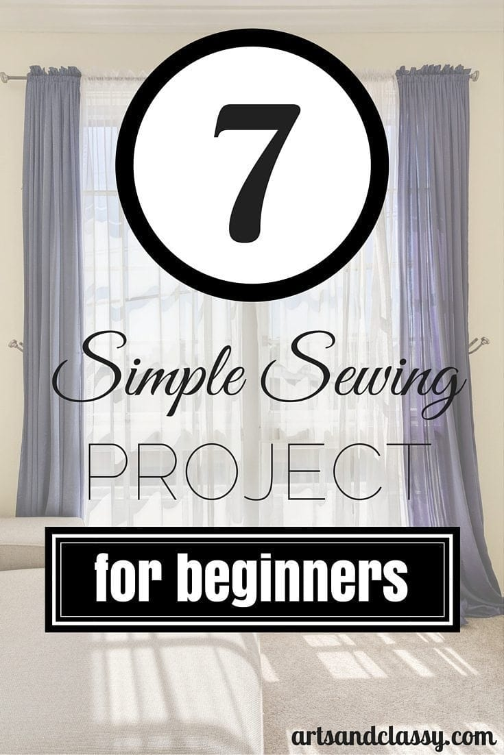 7 Simple Sewing Projects for Beginners