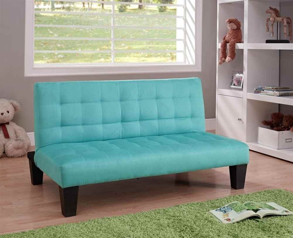 DHP Ariana Junior Sized Futon, Teal