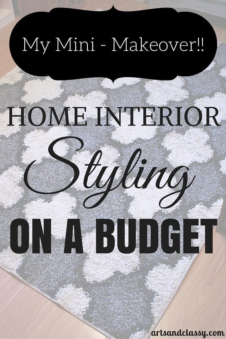 My Mini Makeover - Home interior styling on a budget! #Home #interiorstyling #shop