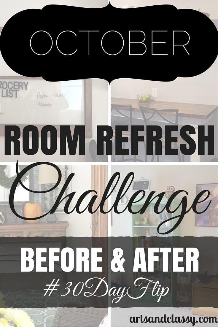 October Challenge #30DayFlip Room Refresh Results
