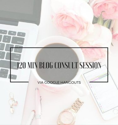 120 Min Blog Consult Session