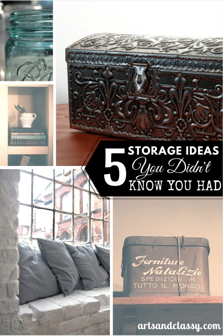 5 Storage Ideas Your Didn't Know Your Had
