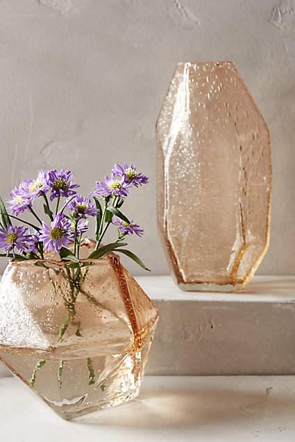 Faceted Gem Vase