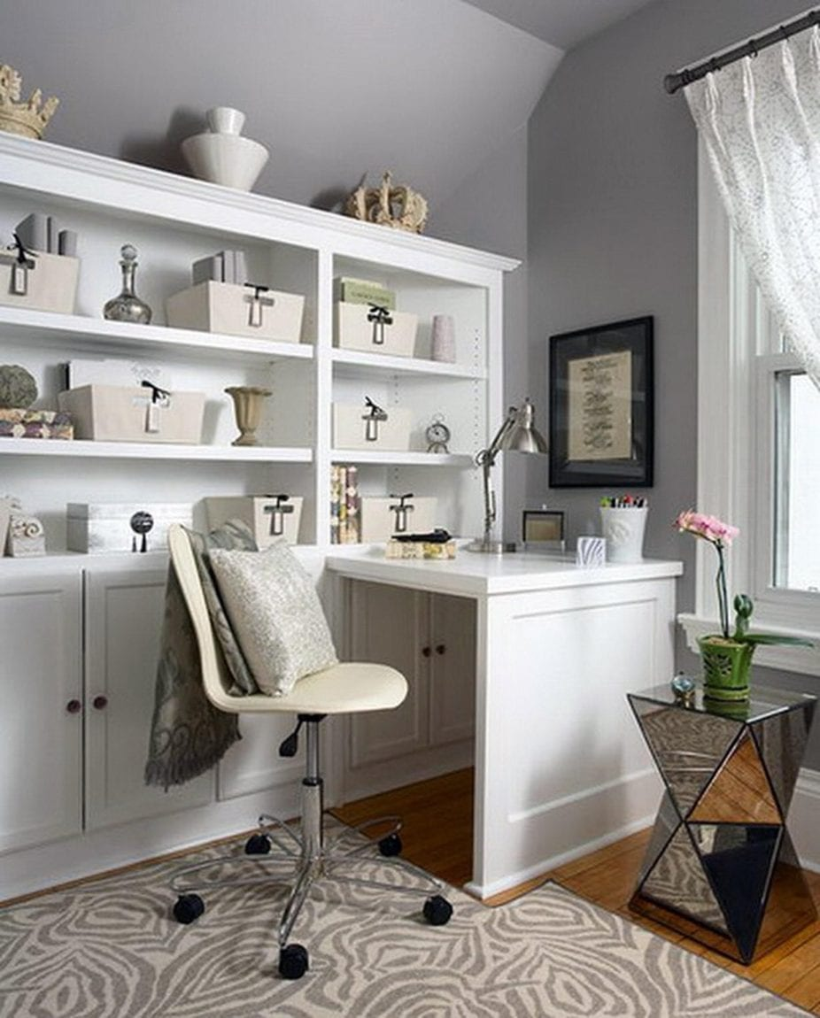 Small Space Home Office Ideas. Learn how to improve the flow and get ideas on how to best set up your home office.