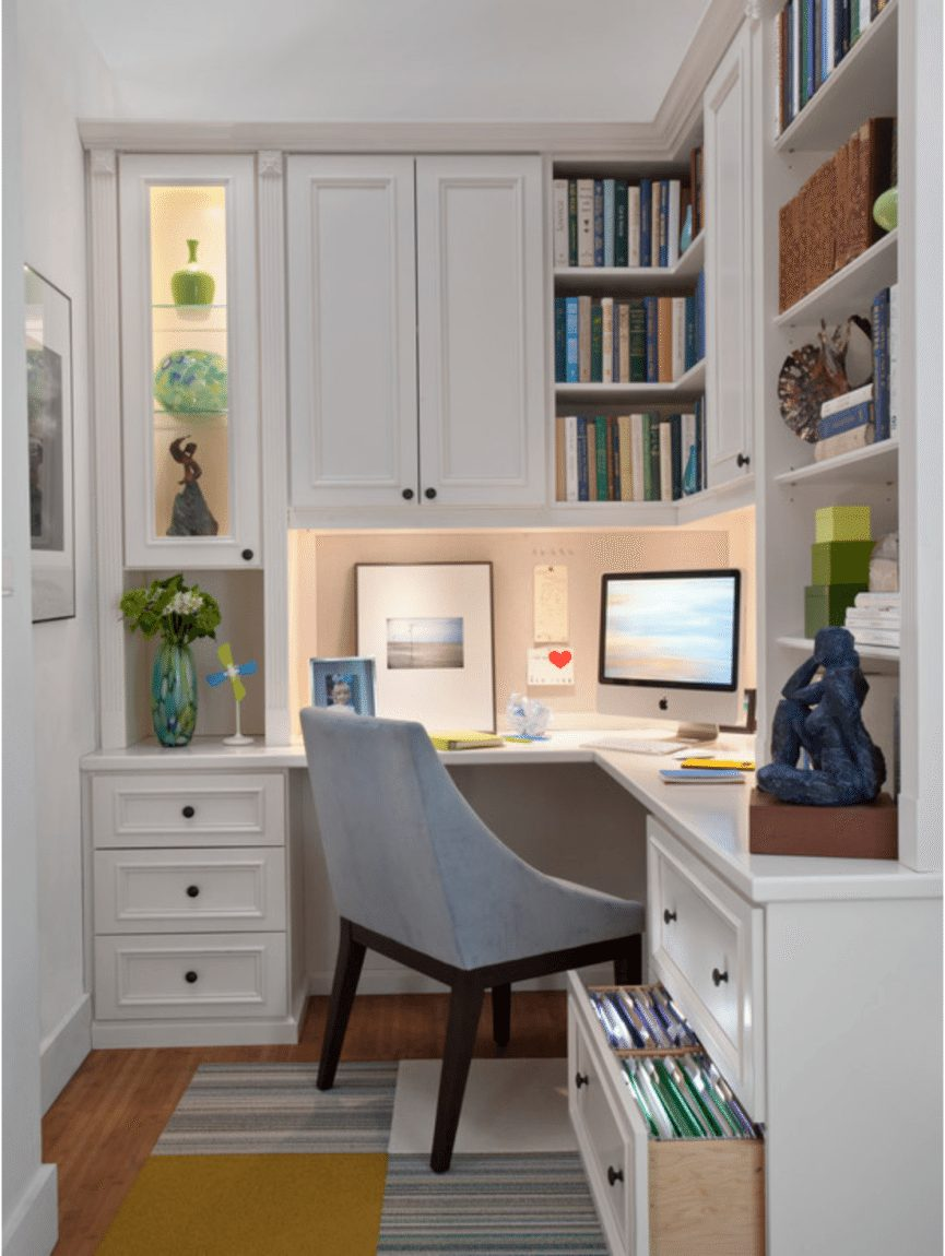 Small Space Home Office Ideas | Arts and Classy