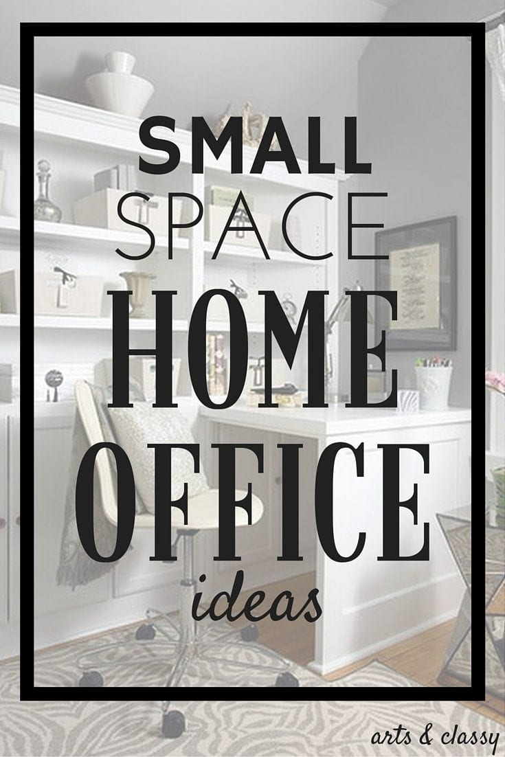 Small space home office ideas that will inspired you to tackle your tiny work space with more of a tactical approach. Make your space work for you!