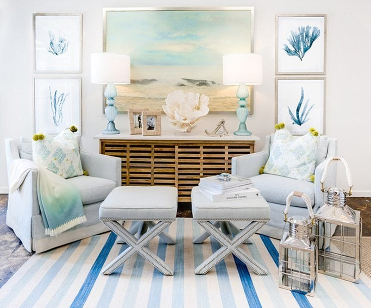 10 Beach-Inspired Decorating Ideas for the Summer copy 9