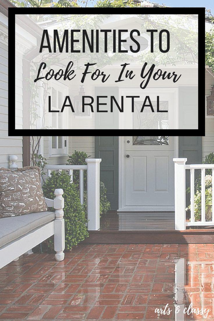 Amenities to look for in your LA rental