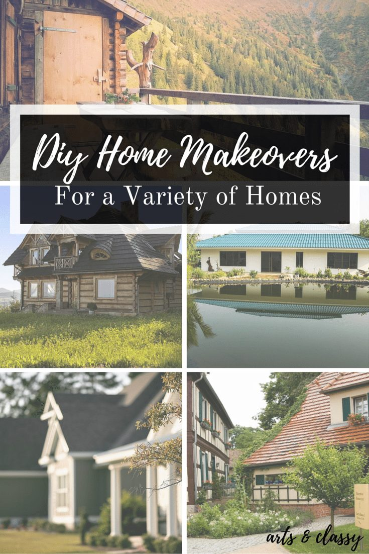 DIY Home Make Overs for a Variety of Homes