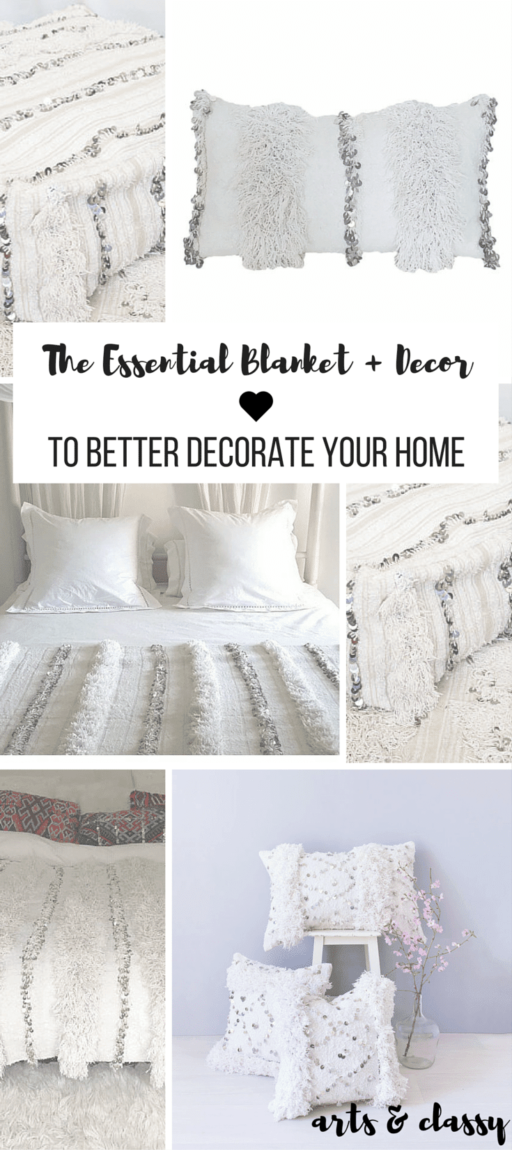 The Essential Blanket + Decor To Better Decorate Your Home