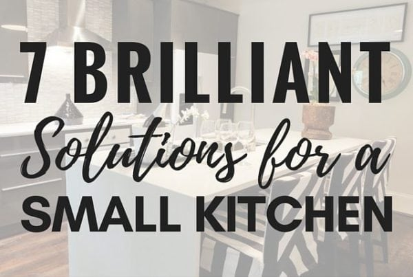 7 Brilliant Solutions for a Small Kitchen
