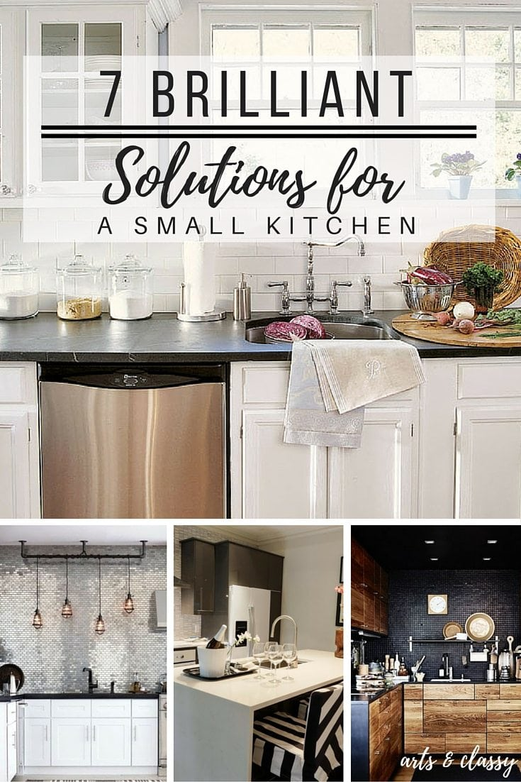 7 Brilliant Solutions for a Small Kithcen