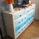Contemporary Dresser Gets A Poetic French Makeover