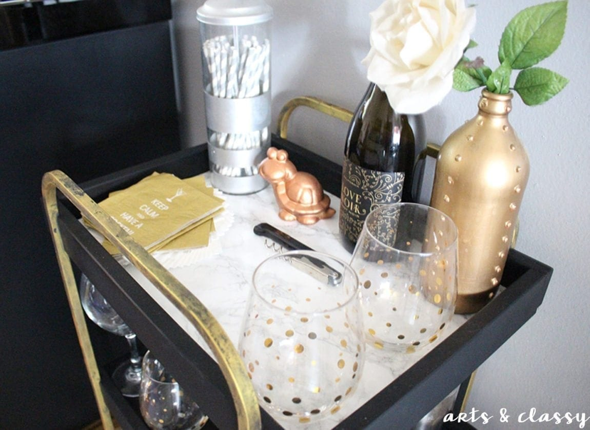 how-to-make-an-elegant-wine-bar-in-a-small-rental-kitchen