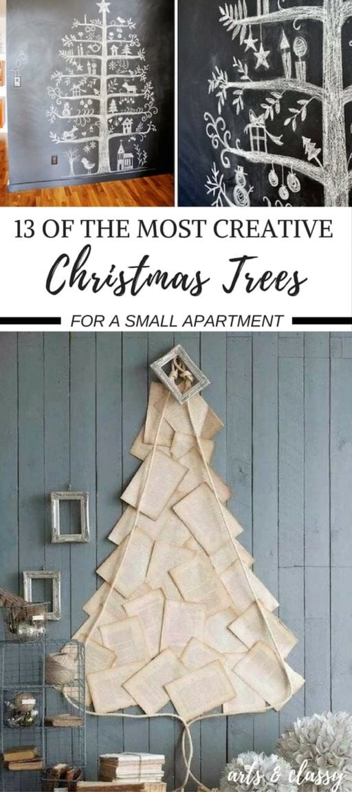 13-of-the-most-creative-christmas-tree-for-a-small-apartment