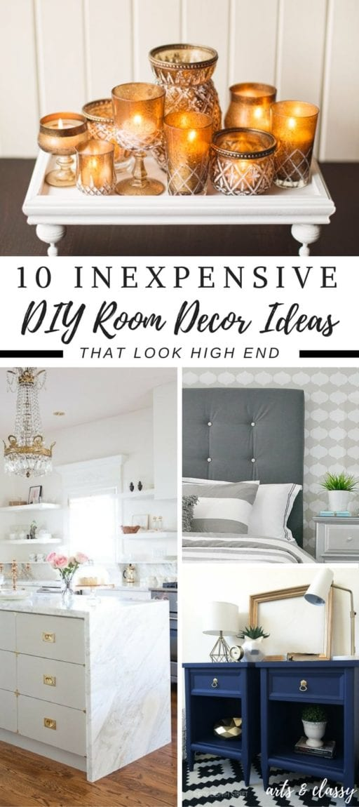 10 inexpensive diy room decor ideas you can easily make for Room decor you can make