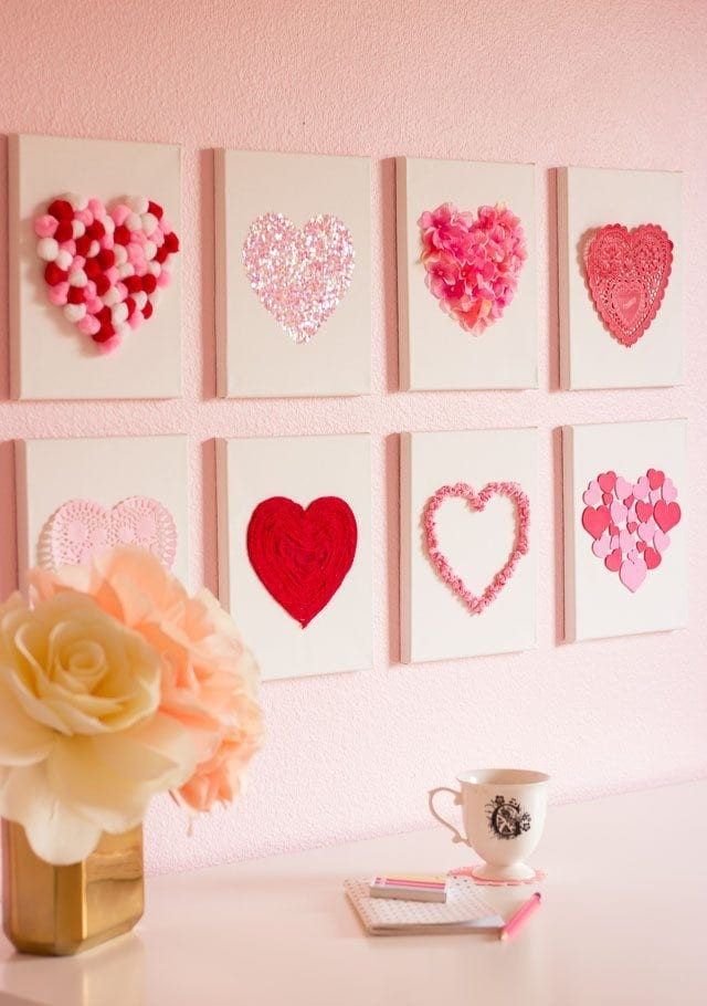Unique 30 valentines day home decor decorating design of for Home decorations for valentine s day