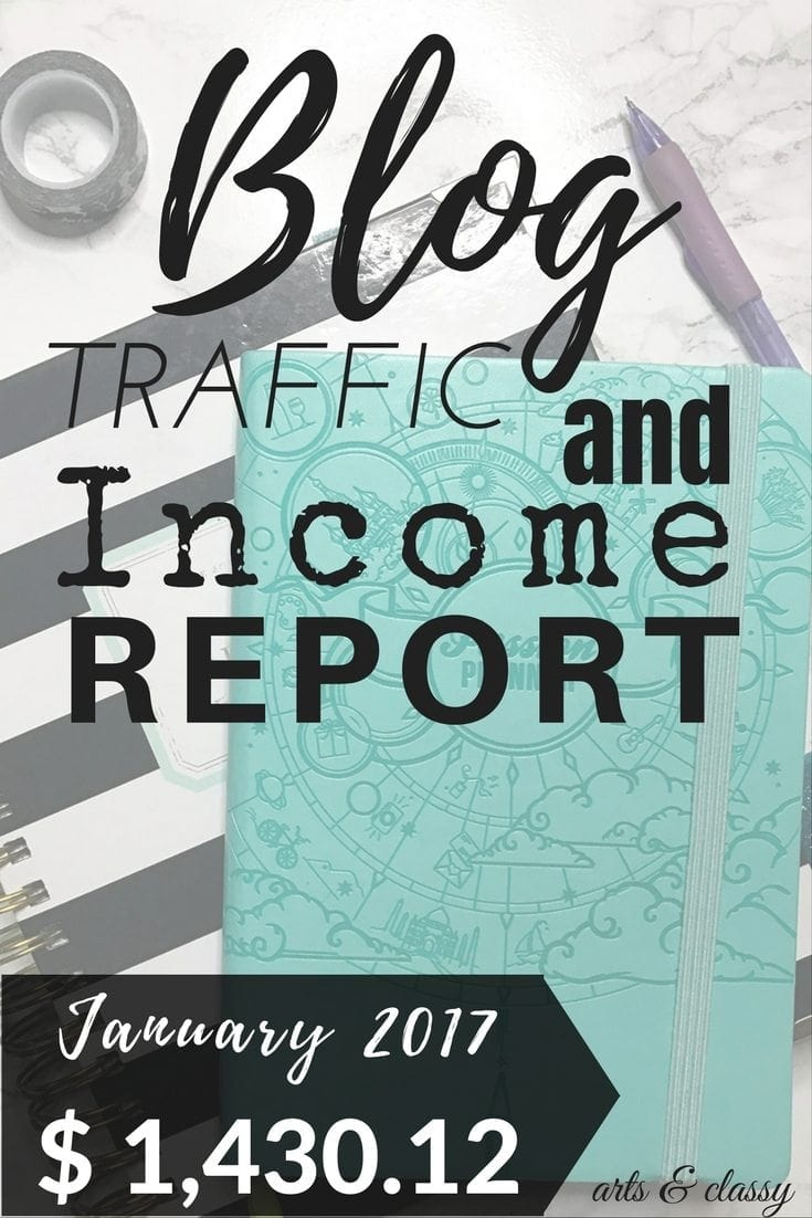 Blog Traffic and Income Report - How I made $1,430.12 in January. I am spilling the details over on the blog. This is perfect for newbie and seasoned bloggers!