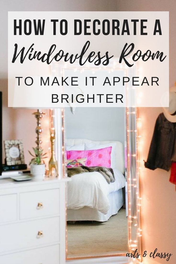 Room Ideas How To Decorate A Room Without Windows Arts