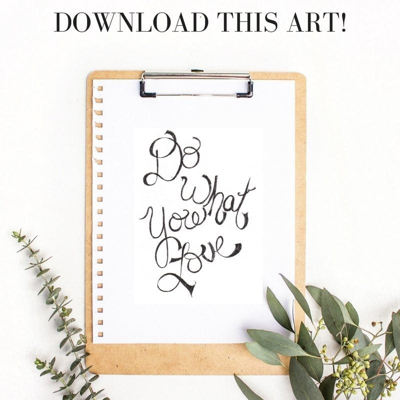 Download this printable art