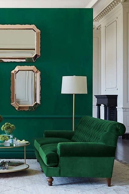 Emerald Green Interior Decor Trends + Inspiration