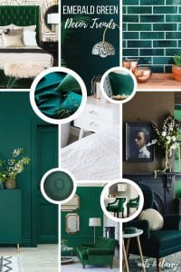 Emerald Green Interior Design Trends + Inspiration